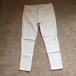 Pants - White skinny ankle jeggings